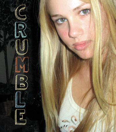 Crumble – shy girl turns brave