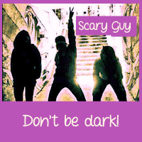 Scary Guy – retro positive humor