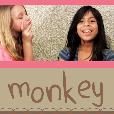 Monkey – think happy