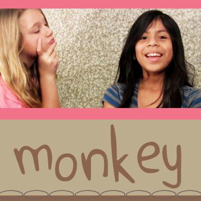 Monkey – think happy